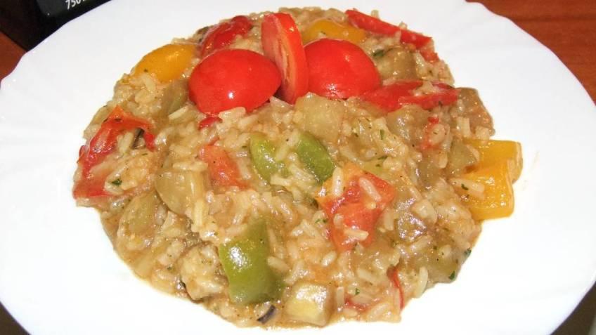 Bijeli rizoto od povrca - gotovo jelo
