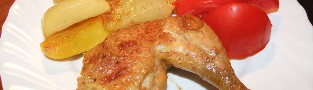 Piletina i krumpir iz pecnice - gotovo jelo (1)