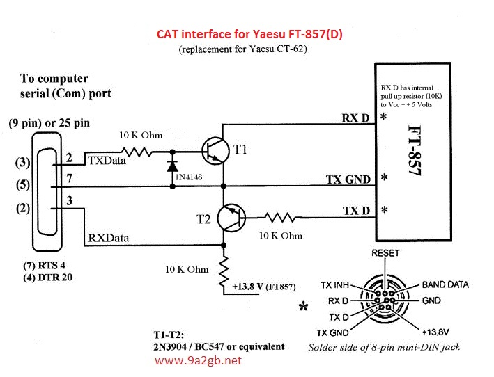 FT-857-CT62 replacement