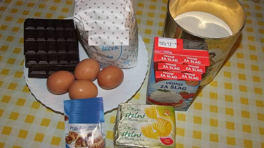 Čokoladno čudo - glavni sastojci