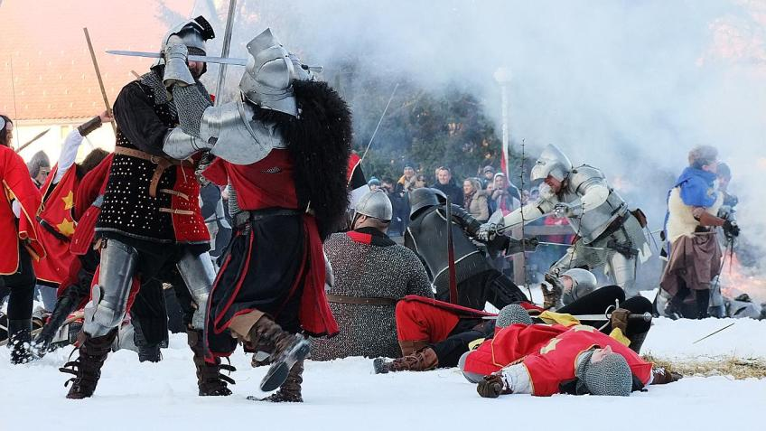 Medieval battle near Samobor
