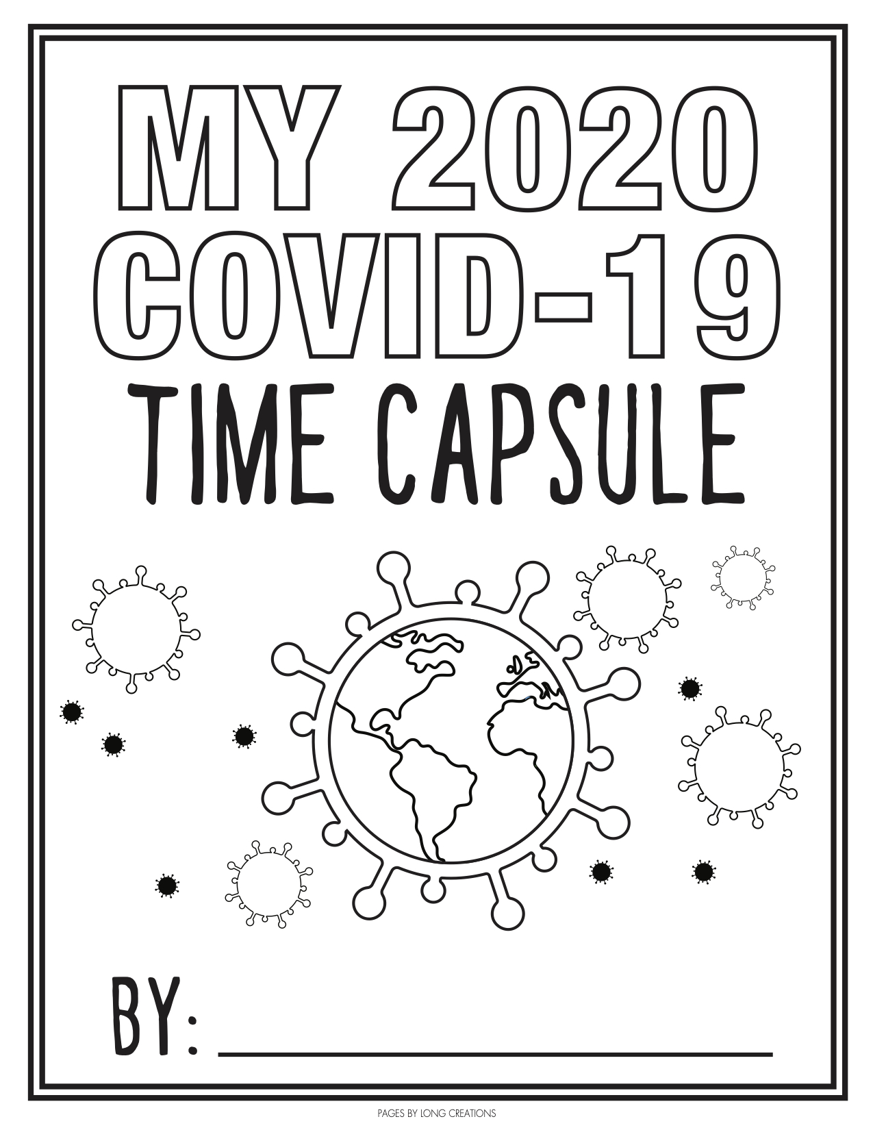 Time Capsule Activity For Children Extension Dodge County