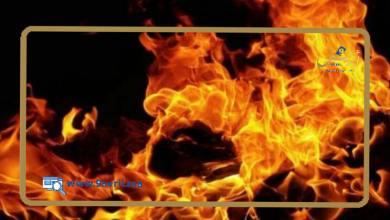 Photo of سيدة تضرم النار في جسدها وتثير الرعب أمام مقر مفوضية أمن بني مكادة