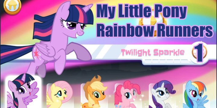 My Little Pony: Rainbow Runners: Twilight Sparkle 1