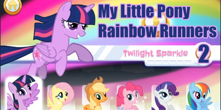 My Little Pony: Rainbow Runners: Twilight Sparkle 2