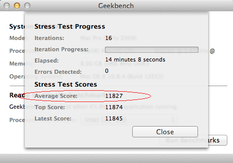 מבחן לחץ 32 ביט מק פרו 2009