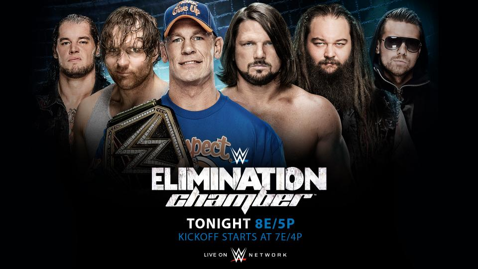 WWE 2017 Elimination Chamber Preview