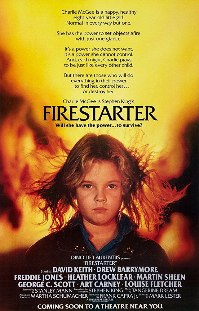 #8 Firestarter (1984)