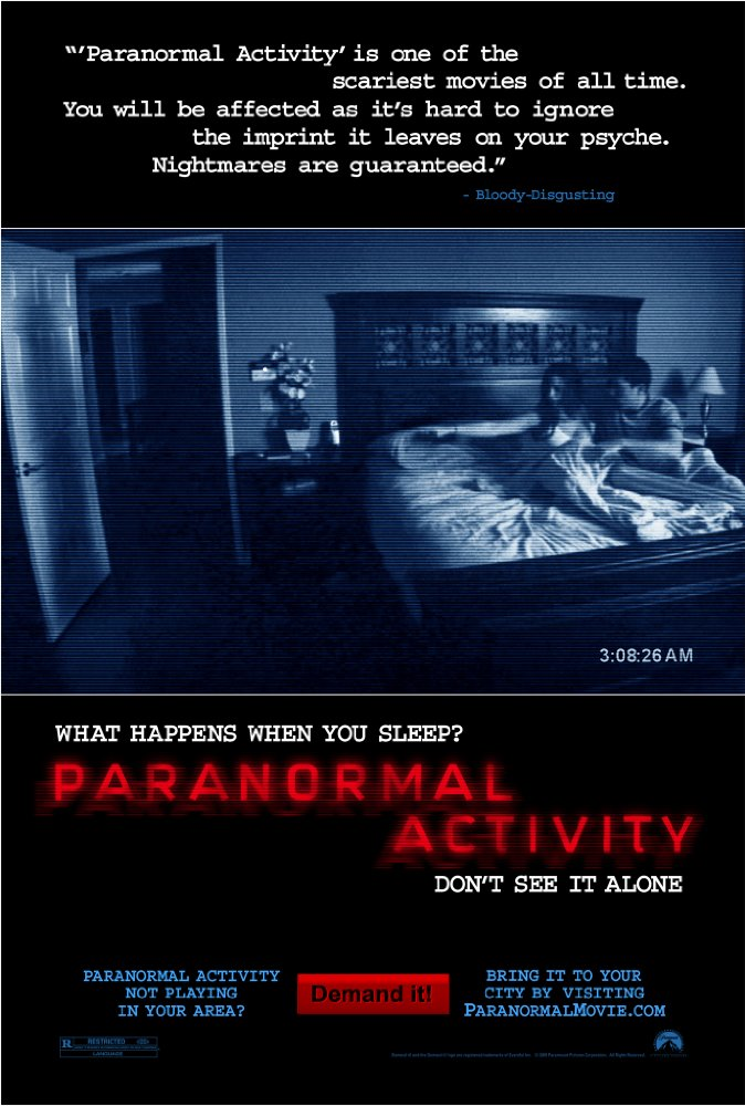 #122 Paranormal Activity (2007)