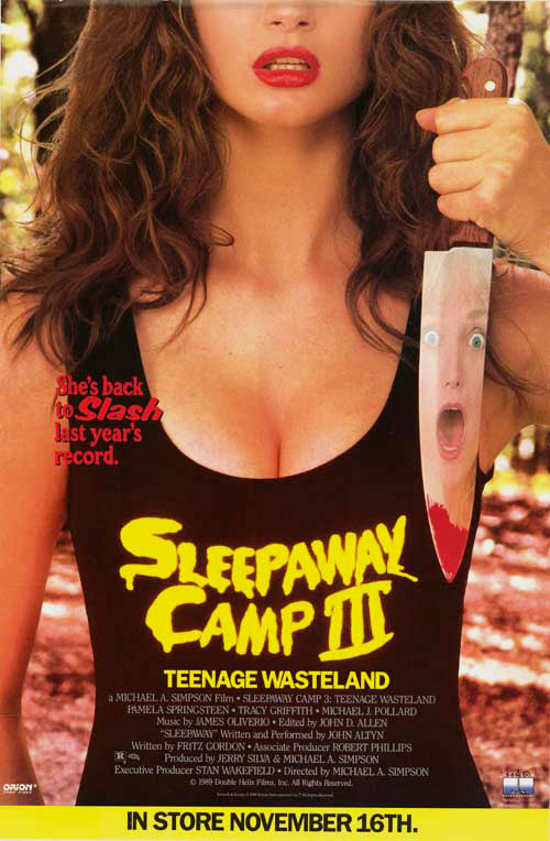 #70 Sleepaway Camp III: Teenage Wasteland (1989)