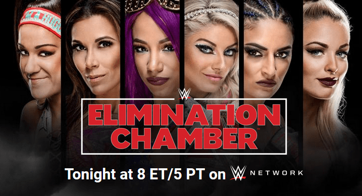 2018 Elimination Chamber Preview
