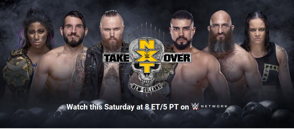 NXT TakeOver New Orleans 2018 Preview