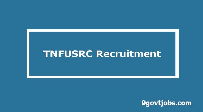 TNFUSRC Recruitment