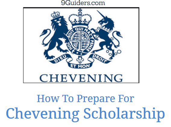 apply for cheveining scholarship
