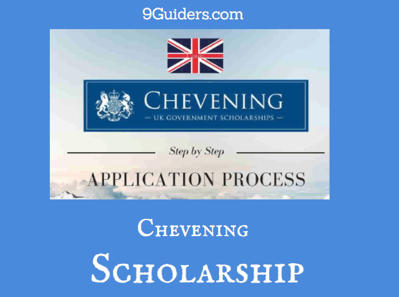 How To Apply For Chevening Scholarship 2021/2022