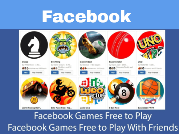 Facebook game free to play
