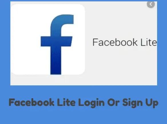 facebook lite login