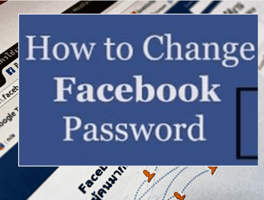 how to change facebook password pics