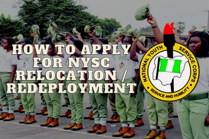 How To Apply For NYSC Relocation/Redeployment