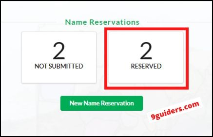 reserved name