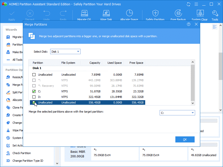 System Partition on Windows 10
