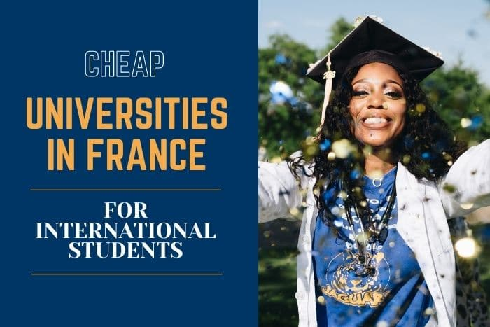 cheap universities in France