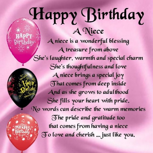 63 Best Happy Birthday Wishes For Niece With Images 9 Happy Birthday