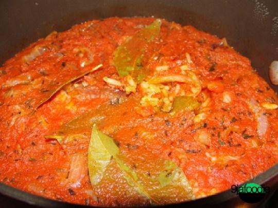 NIgerian Jollof Rice with Basmati Rice