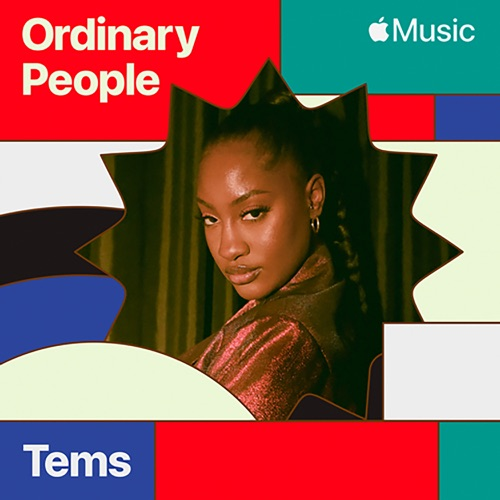 Tems Ordinary People Cover