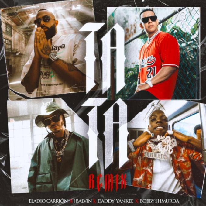 Eladio Carrion J Balvin Tata Remix ft. Bobby Shmurda Daddy Yankee