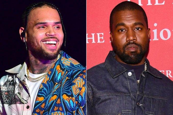 Chris Brown Kanye West