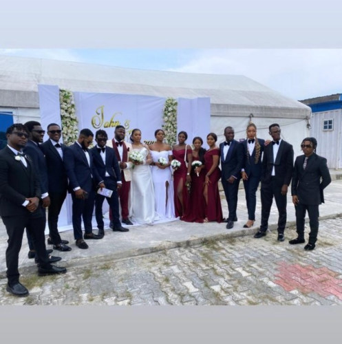 Skales Wedding 1