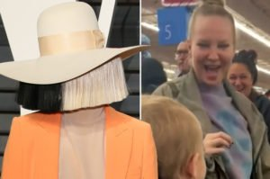 Sia reveal herself