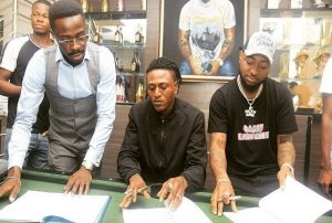 [News Update] Davido Terminate Artist»Contract With Idowest,Also Ignores his Birthday