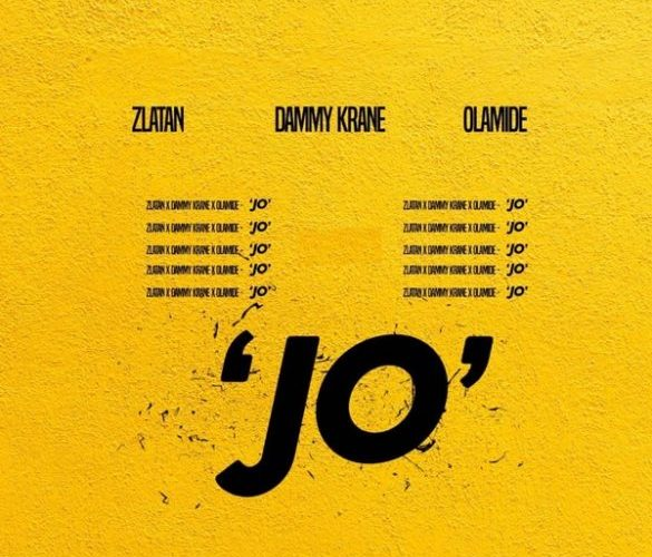"[Music] Dammy Krane Ft. Zlatan & Olamide ""Jo"""