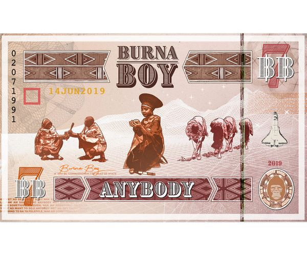 "[Music] Burna Boy – ""Anybody"""