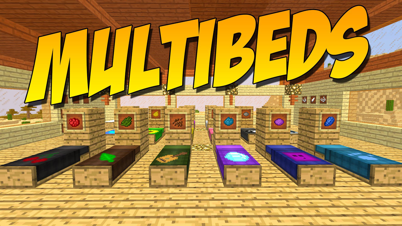Multibeds Mod 1 16 4 1 15 2 Decorating With Different Beds 9minecraft Net