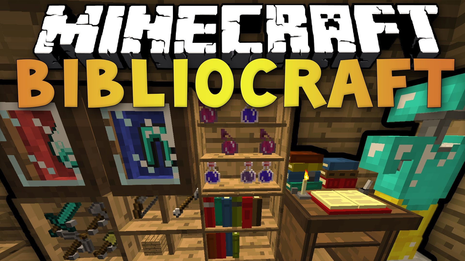 Bibliocraft Mod 1 12 2 1 11 2 Armor Stands Bookcase
