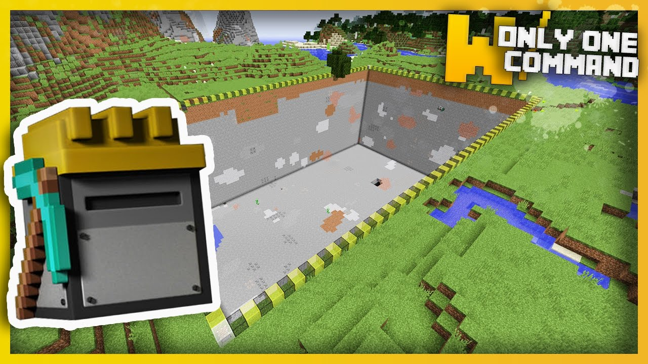 1 2 Block Command 7 Numbers Give Minecraft