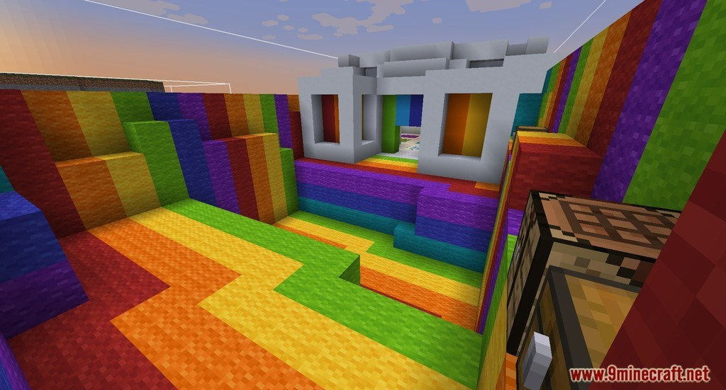 Find The Button Crafting Map 1122112 For Minecraft