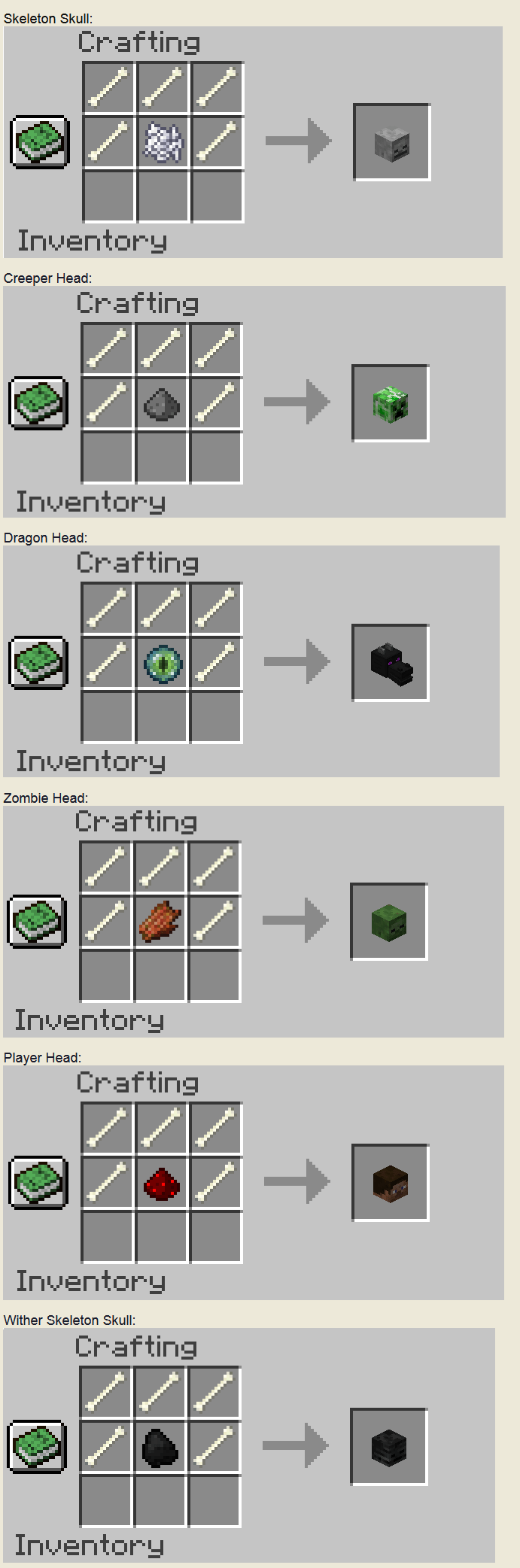 Inventory Pets 1 7 10 Crafting Recipes | Treeofflife org