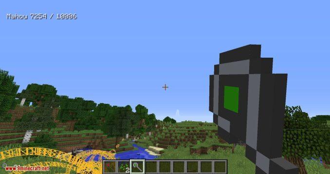 Mahou Tsukai mod for minecraft 15