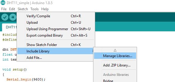 Gestione librerie (aggiungere una libreria su Arduino)