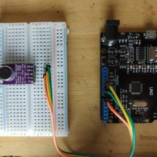 Microfono Adafruit MAX9814 con Arduino
