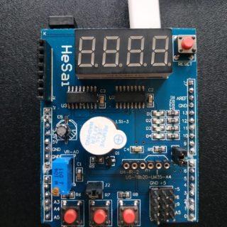 Shield multifunzione per Arduino