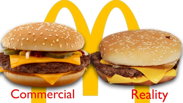 Burger-commercial-vs-reality