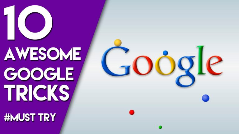 Awesome 10 Cool Google Tricks That Will Change The Way You Use Search Engine (2017)
