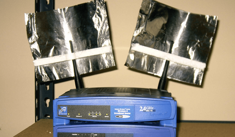 Boost your WiFi Signal Strength Using This Tin Foil Hack