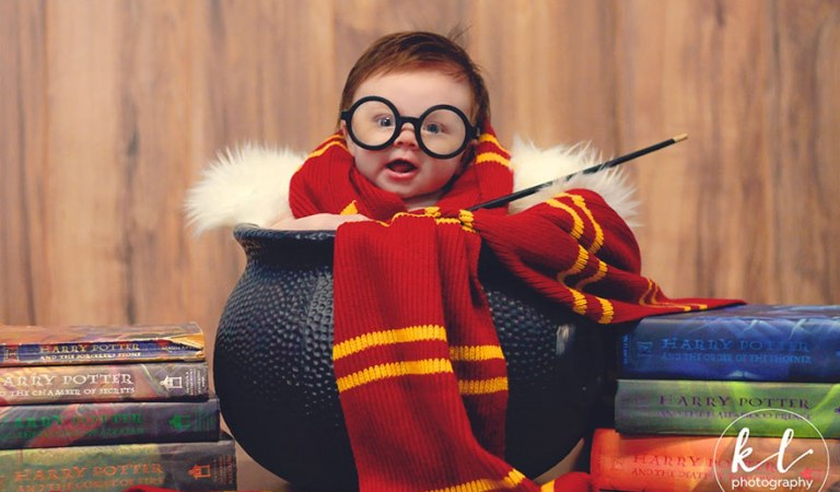 3-Month-Old Baby Has A 'Harry Potter' Photoshoot