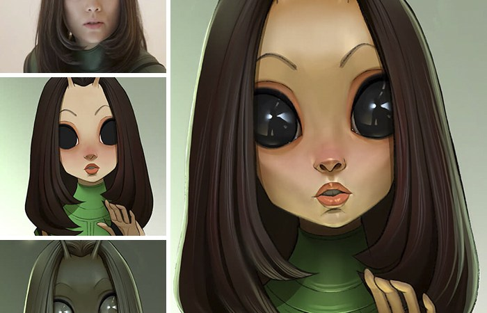 This Artist Turns Movie Characters Into Cartoons